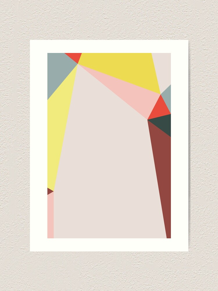 Alternate view of Polygonal Composition n° 5 Art Print