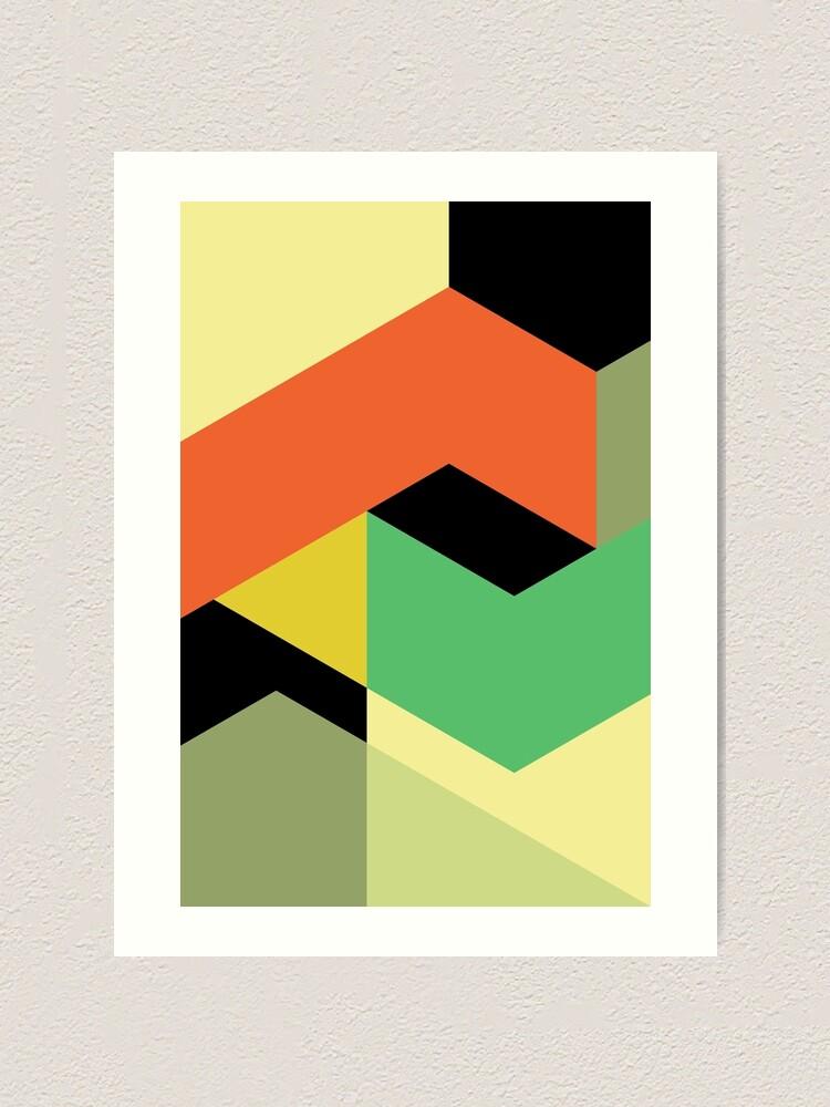 Alternate view of Minimal Direction n° 1 Art Print