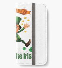 ST. PATRICK'S DAY LUCK OF THE IRISH LEPRECHAUN iPhone Wallet/Case/Skin