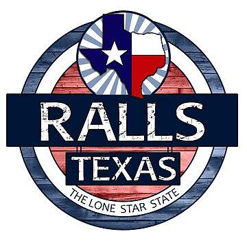 Ralls Texas rustic wood circle by artisticattitud