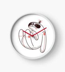 Lazy Space Sloth Clock