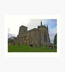 The Church East Witton. Art Print