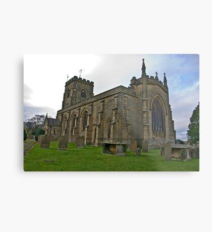 The Church East Witton. Metal Print