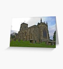 The Church East Witton. Greeting Card