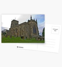 The Church East Witton. Postcards