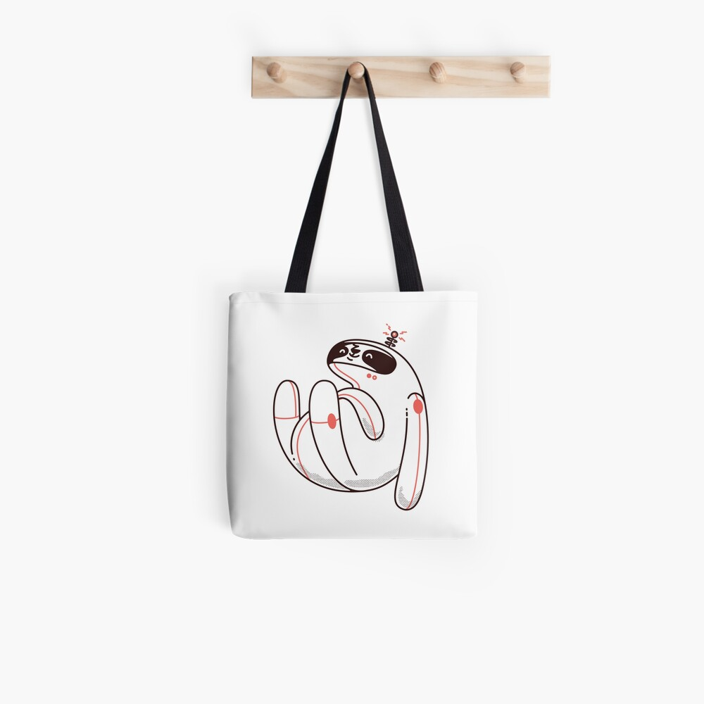 Lazy Space Sloth Tote Bag