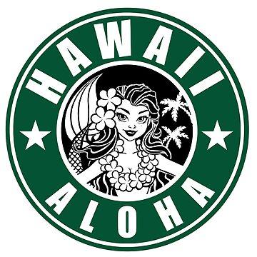 Hawaii Aloha Coffee by Kaaawasaki