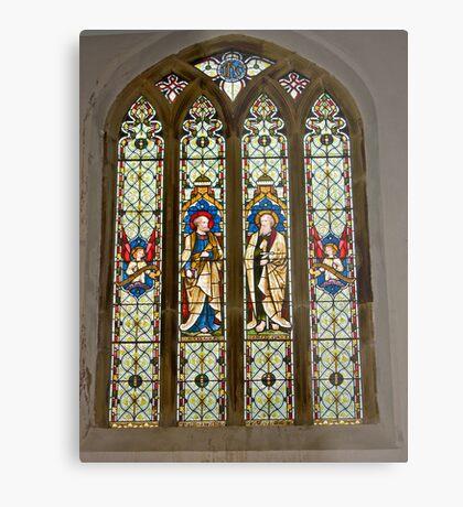 Window #1 East Witton Church Metal Print