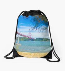 almost summer Drawstring Bag