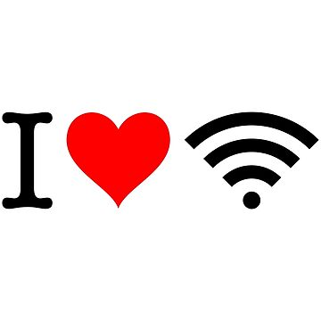 I Love Free Wifi by fourretout