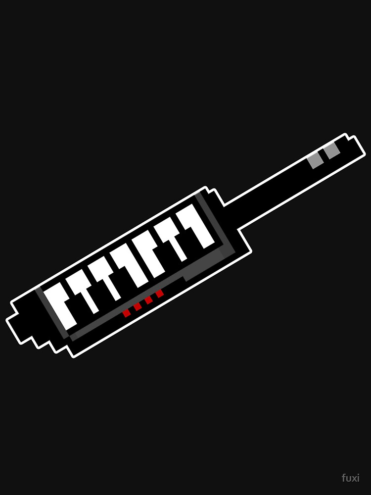 8Bit Keytar Pixels by fuxi