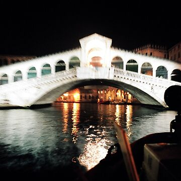 The Rialto Bridge Venice by violetstar