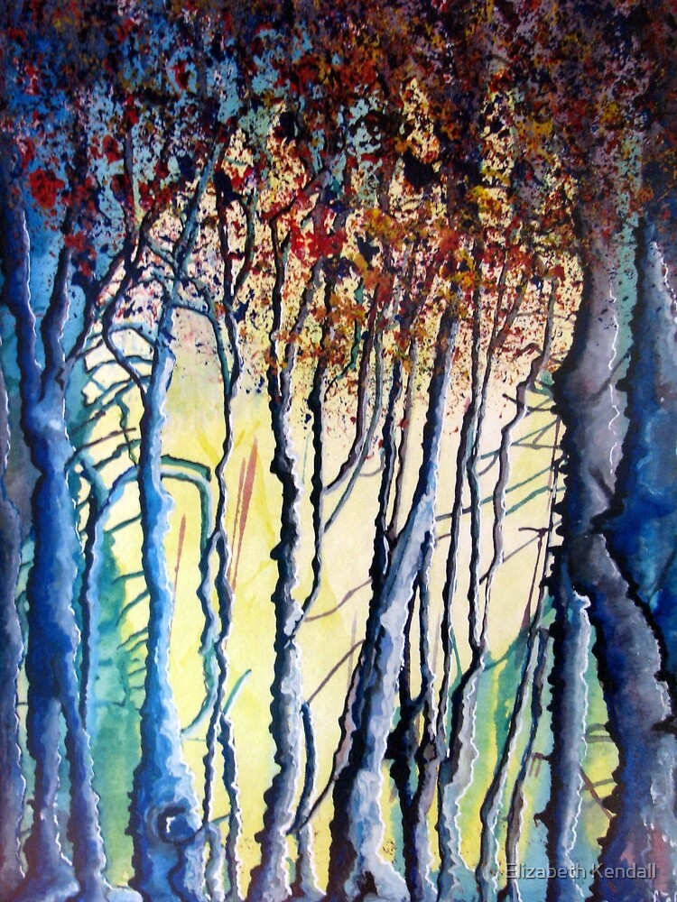 Trees tell a story by Elizabeth Kendall