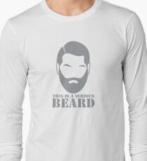 This is a SERIOUS BEARD with man unshaven T-Shirt