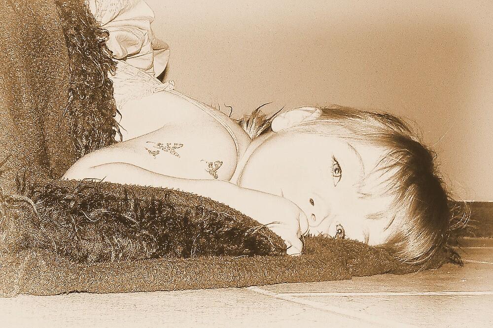 Blanket Girl by Dawsey
