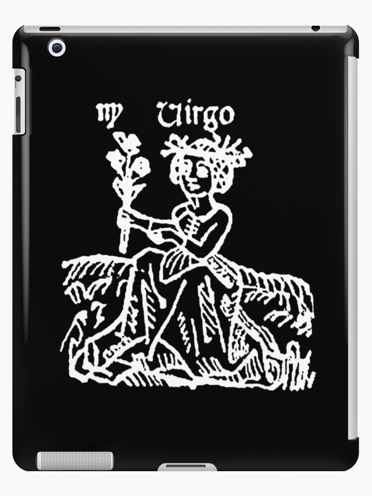 'Horoscope, VIRGO, Astrology, Signs of the Zodiac, The Maiden, Birth Sign'  iPad Case/Skin by TOM HILL - Designer