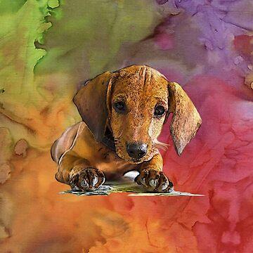 DOG BATIK by Rockwell47