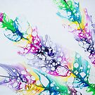 rainbow feathers... by wigs