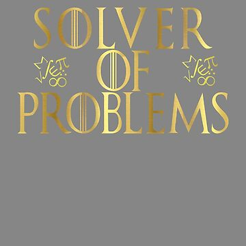 Top Fun Math Computer Geek Solver of Problems Design by LGamble12345
