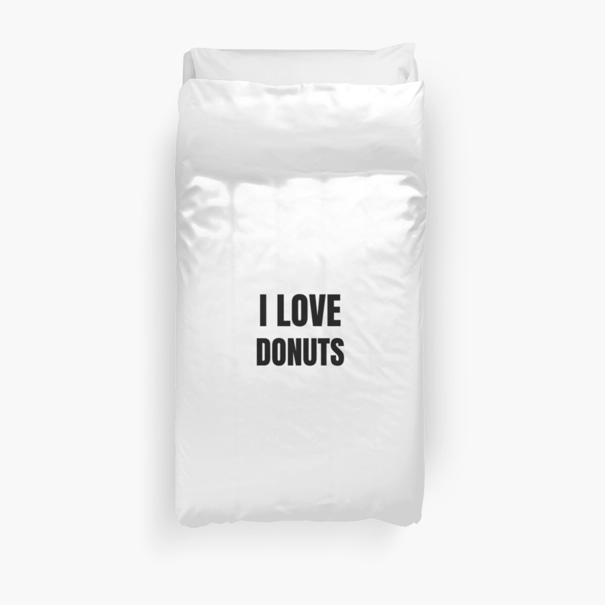 I Love Donuts Funny Gift Idea by FunnyGiftIdeas