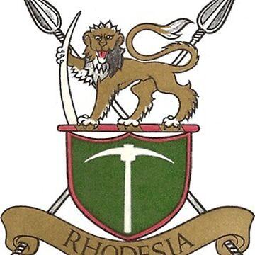 Rhodesian Army Badge Sticker by CarterCooper