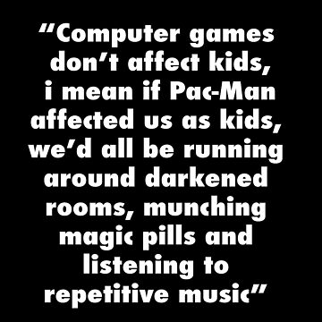 Computer games don't affect kids by filiteo