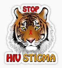 Stop HIV Stigma Sticker