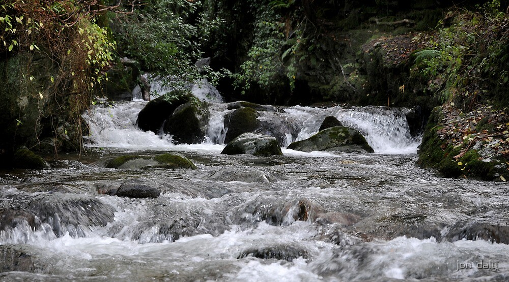 Swollen River by jon  daly