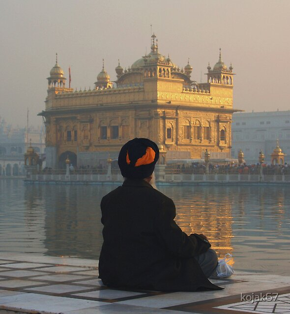 At Peace At The Golden Temple, Amritsar, Punjab, India by kojak67