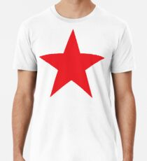 Red Star, STAR, RED, Stardom, Power to the people! Red Dwarf, Stellar, Cosmic Männer Premium T-Shirts