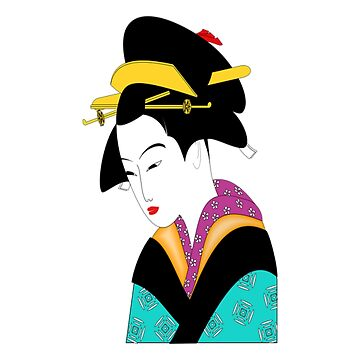 Japan Geisha Traditional Japanese art by Discofunkster