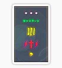 XO Lightening  Sticker