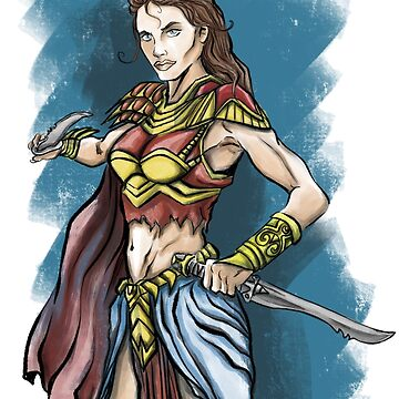 Fantasy warrior woman by Extreme-Fantasy