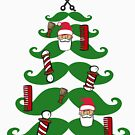 Barber Christmas Tree by Pferdefreundin