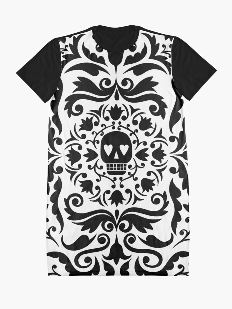 Alternate view of Gothic design Graphic T-Shirt Dress