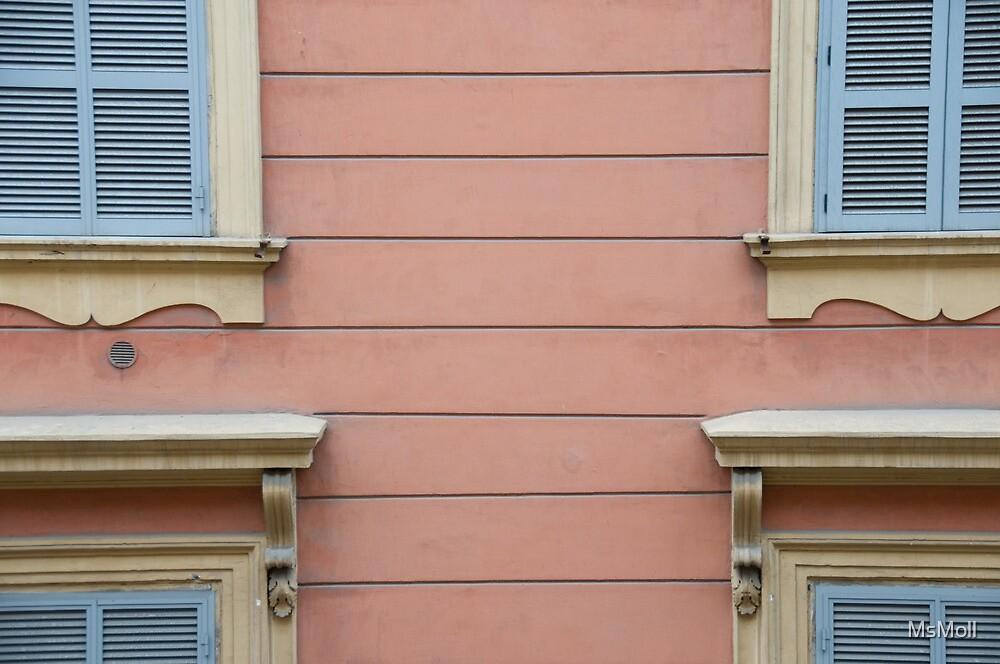 Windows in Rome by MsMoll