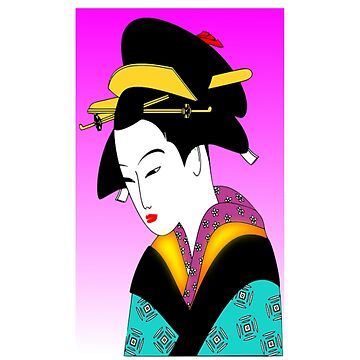Geisha Traditional Japan Japanese by Discofunkster