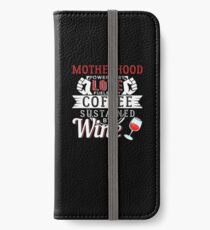 Motherhood iPhone Flip-Case/Hülle/Klebefolie