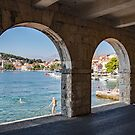 Under the Arches - Cavtat by John Thurgood