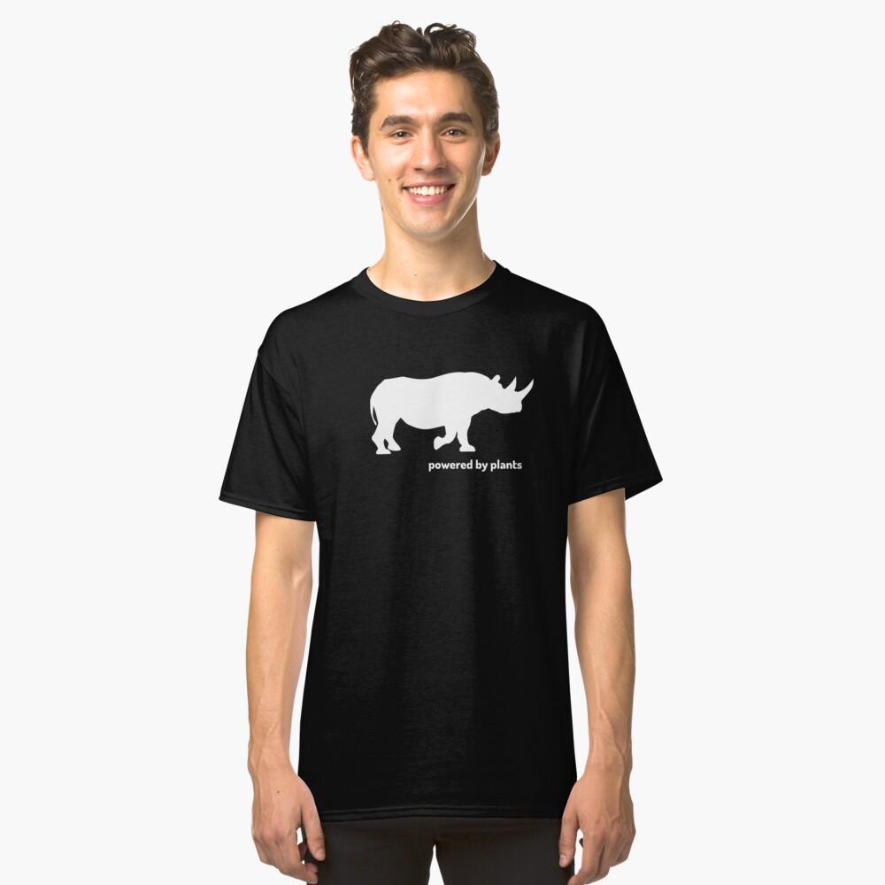 rhino powered by plants Classic T-Shirt