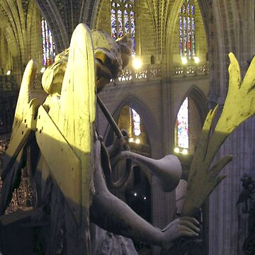 The angel of the cathedral of Seville by arkitekta