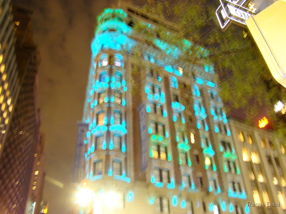 NYC SUMMER LIGHTS by Renee Dahl