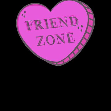 Friend Zone Valentine Heart by KoolMoDee