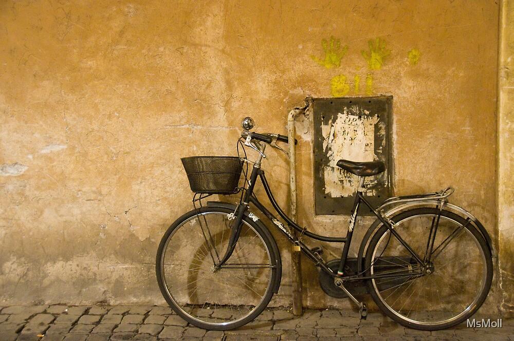 Resting in Rome by MsMoll