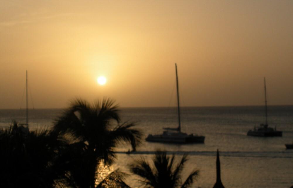 Waking up in Aruba by lovepeace