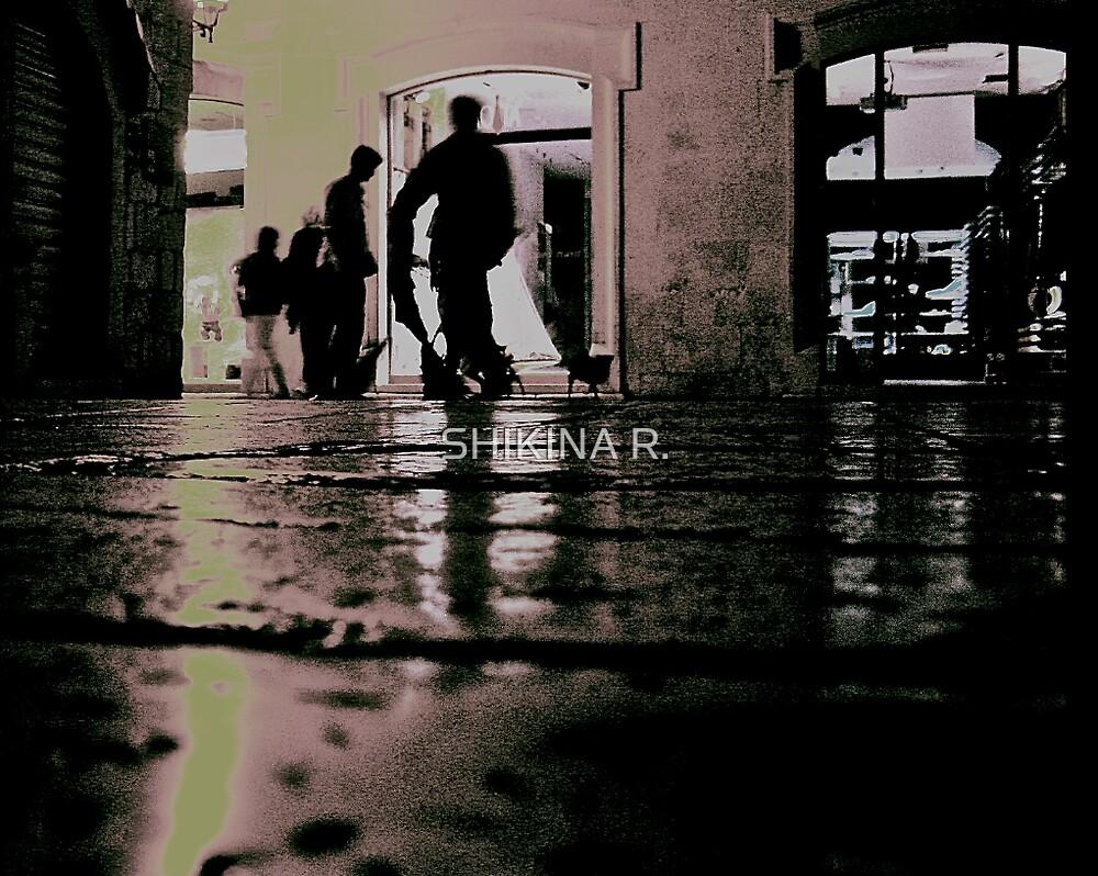 kli in the city the rain made him happy by SHIKINA R.