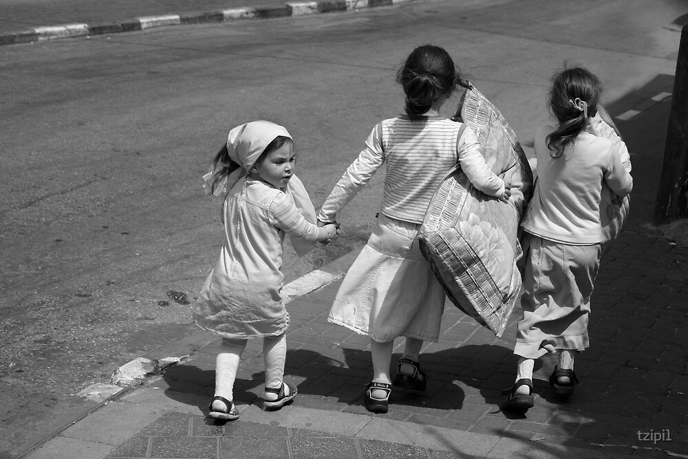 Kids in Jerusalem by tzipi1