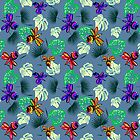 Crazy Comical Dragonflies By Lorloves Design by LorlovesDesign