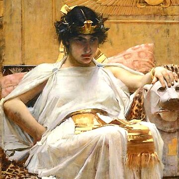 Cleopatra, John William Waterhouse by TOMSREDBUBBLE