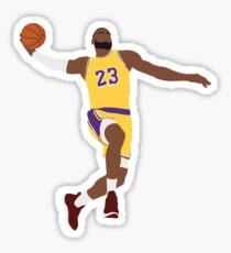 LeBron James - Dunk Sticker